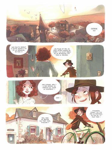 Les carnets de Cerise - Tome 1 [Chamblain, Joris & Neyret, Aurélie] Les-carnets-de-Cerise-Ill01