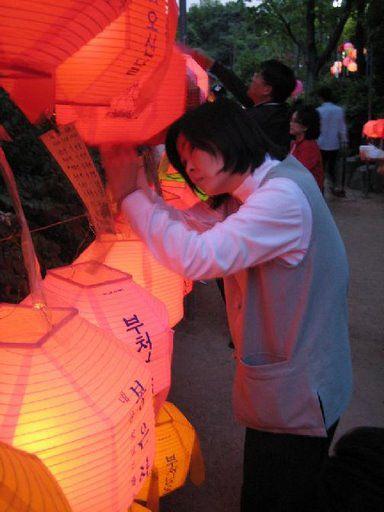 Happy Birthday Bouddha Corée Bongeunsa_fete_de_bouddha_30
