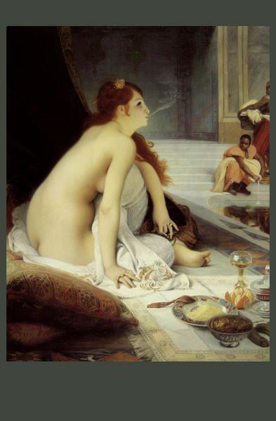 La  FEMME  dans  l' ART - Page 2 37-Lecomte-du-Nouy-L-esclave-blanche--1888