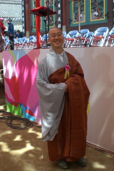 Happy Birthday Bouddha Corée CIMG4344