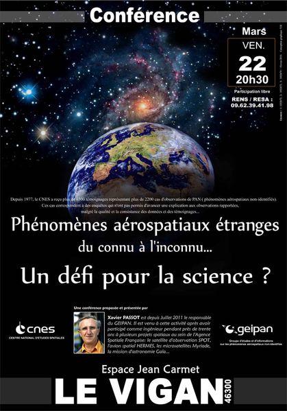 Conférence du GEIPAN - 22 Mars 2013 Geipan-ima