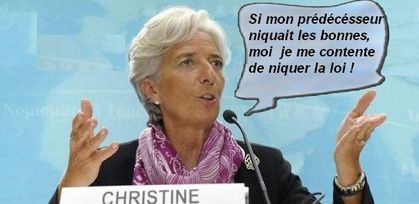 La corruption, gangrène de la démocratie - Page 4 Lagarde-2