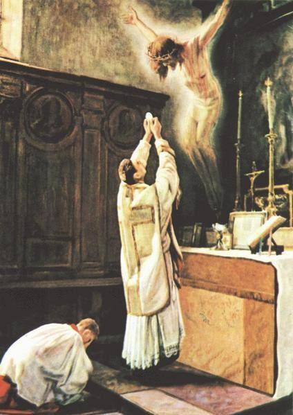 Le témoignage de Catalina, stigmatisée (2003) : La Sainte Messe(2) Consecration-Eucharistique