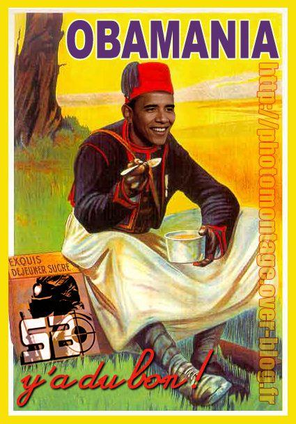 Obama Banania McCain Chaplin OBAMA-BANANIA-SB
