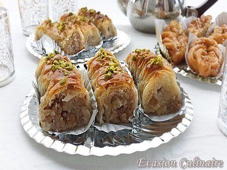 Baklawa Rolls Baklawa-rolls