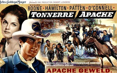 Tonnerre Apache - A Thunder of Drums - 1961 - Joseph Newman  TONNERRE-APACHE