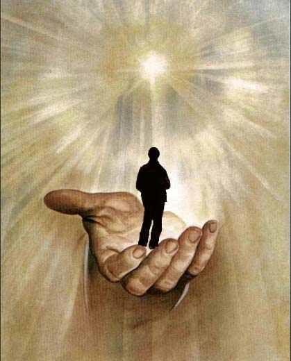 Njeriu i së ardhmes - Hyjnor apo kafshëror Homme-dans-la-main-divine