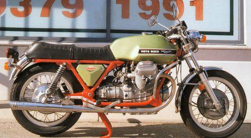 Les motos GUZZI ont 100 ans aujourd'hui V7_SPORT