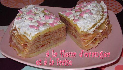 Gâteau de crêpes à la fleur d'oranger et à la fraise Gateau-de-crepes-a-la-fraise4