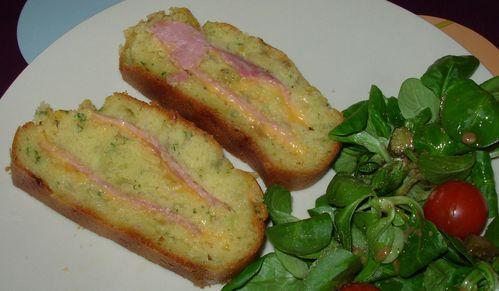 Cake au jambon, au cheddar et à l'oignon Cake-jambon-chedar5