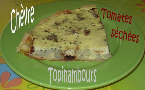 Tarte aux topinambours, chèvre et tomates séchées Tarte-topi-chevre-tomates4