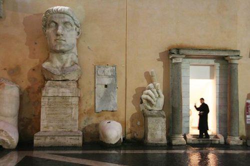 la gravure - Page 3 396a1-Rome--musees-du-Capitole--Constantin