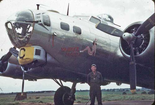 """[Revell] B-17F """"Memphis belle"""", 1/48e YankeeMaidII"""