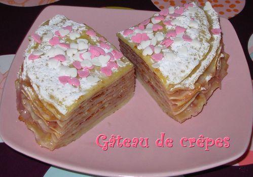 Gâteau de crêpes à la fleur d'oranger et à la fraise Gateau-de-crepes-a-la-fraise3