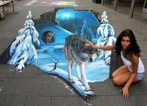 illusion - Page 2 Illusion-d-optique-dans-la-rue-rencontre-avec-des-loups-dr_