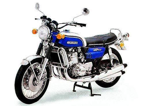 Photos de 3 cylindres SUZUKI 1973_GT750K_blue_500