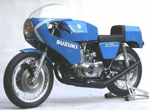 Photos de 3 cylindres SUZUKI Gt750s