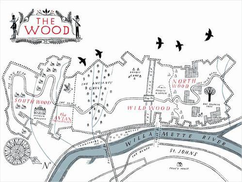 [Meloy, Colin] Les chroniques de Wildwood - Livre I The-Wood