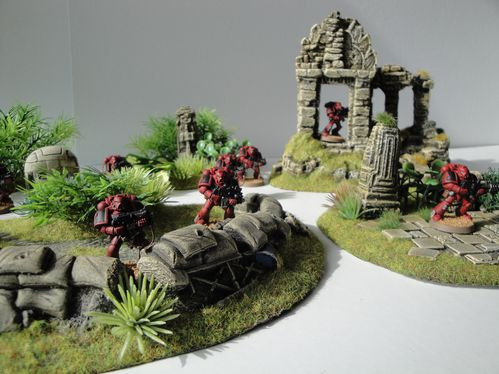 40K_Atelier décors en vue d'une nouvelle table Jungle DSC01717