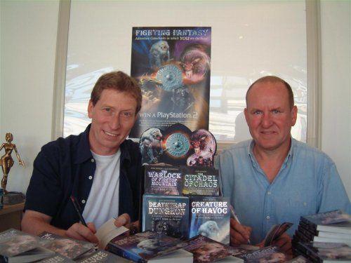 Le vrai visage des auteurs de livre jeux Steve-jackson_-ian-livingstone