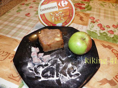 Cake à l'andouille, camembert et pomme P9030029