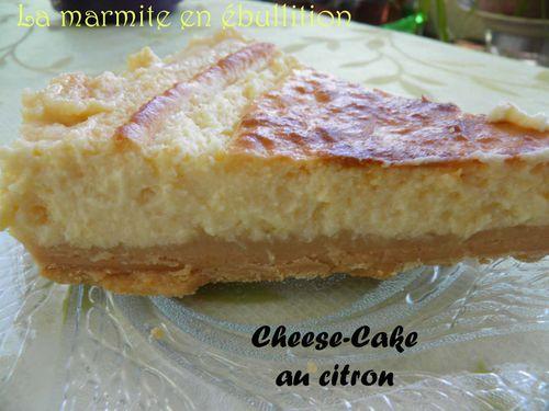citron - Cheesecake au citron P5070248