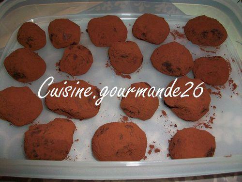 chocolat - Truffes au chocolat Truffes