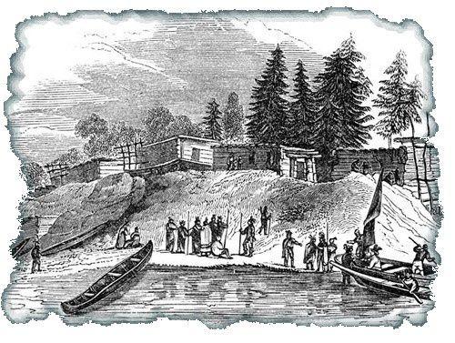 Légende : Croatoan Roanoke ou la légende de la colonie perdue. Roanoke-colony-3