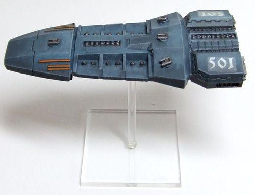 [Firestorm Armada] Flotte Terran WIP Cruiser