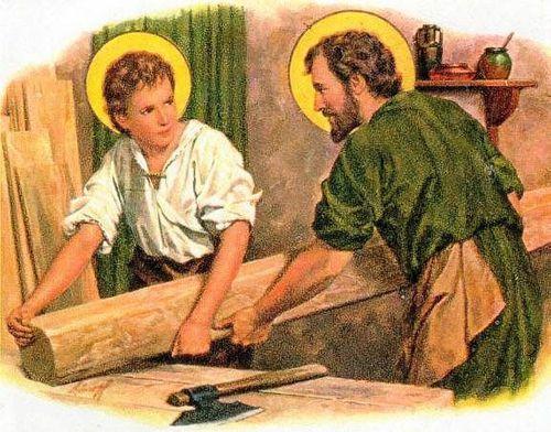''Vatican/Citation/Évangile'' St-Joseph-charpentier