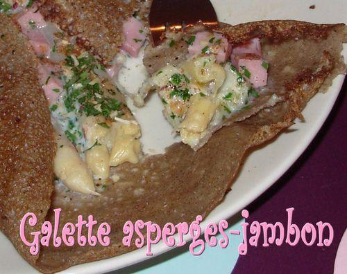 galette - Galette aux asperges et au jambon Galette-asperges-jambon3