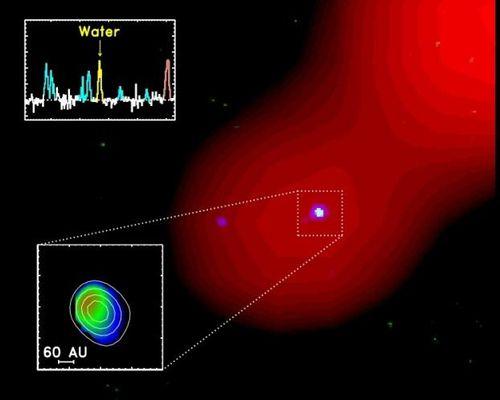 Découverte d'eau dans un système planétaire. Decouverte-d-eau-dans-un-systeme-planetaire