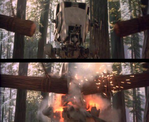"""Fall of the Empire"" – Ewoks vs. Stormtrooper Diorama - Page 2 Return-of-the-jedi"