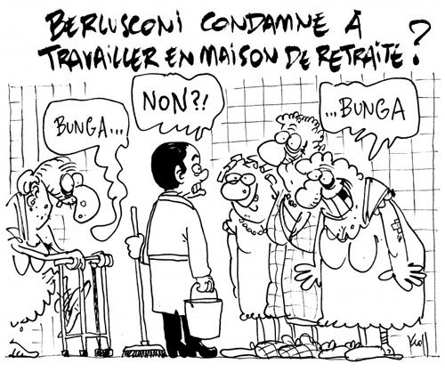 A RIRE OU EN PLEURER OU REVUE DE PRESSE SATIRIQUE - Page 4 Berlusconi-kroll
