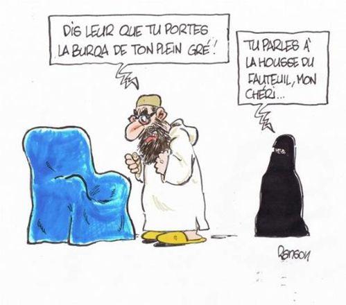 La Charia - Comment discipliner une femme  Burqa