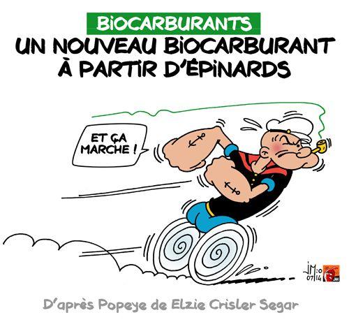 A RIRE OU EN PLEURER OU REVUE DE PRESSE SATIRIQUE - Page 13 Popeye-biocarburant-jm