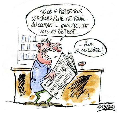 A RIRE OU EN PLEURER OU REVUE DE PRESSE SATIRIQUE - Page 13 Presse-gab