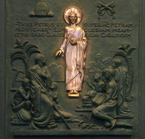 Citation 29/Pierre/Je te donnerai les clefs du Royaume des cieux.../ 389i-Rome--St-Paul-hors-les-Murs