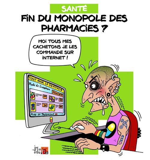 A RIRE OU EN PLEURER OU REVUE DE PRESSE SATIRIQUE - Page 13 Pharmacie-monopole-jm