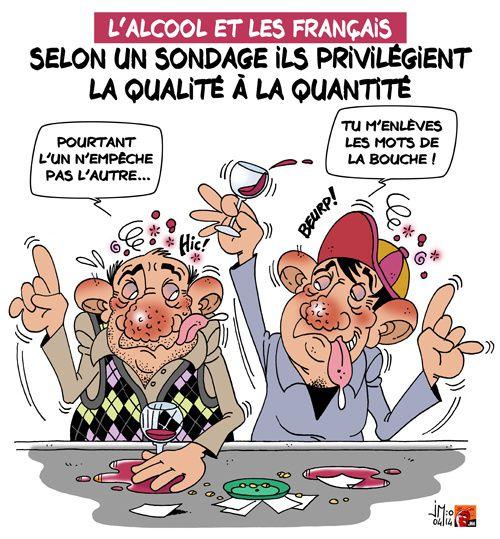 A RIRE OU EN PLEURER OU REVUE DE PRESSE SATIRIQUE - Page 4 Francais-alccol-jm