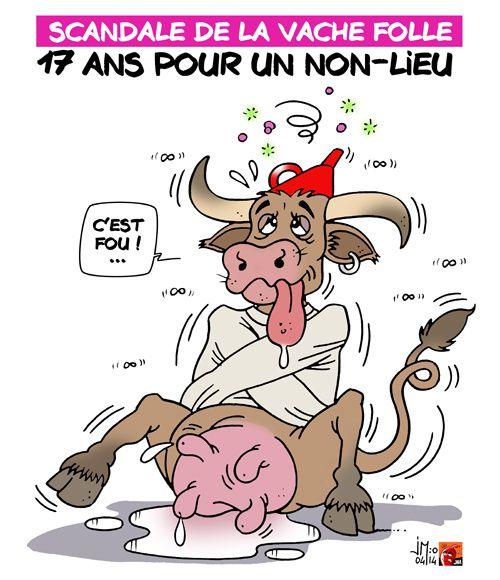 A RIRE OU EN PLEURER OU REVUE DE PRESSE SATIRIQUE - Page 4 Vache-folle-jm