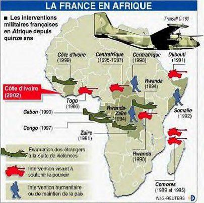 pour - Cartes et infographies de l'Afrique Francafrique2