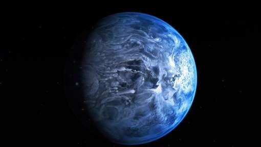 Une exoplanète bleue comme la Terre identifiée Media_xll_5979934