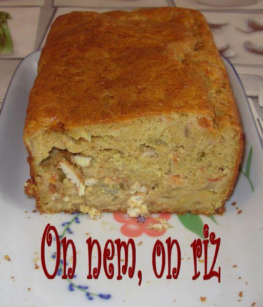 Cake de poulet tandoori Cake-poulet-tandoori2