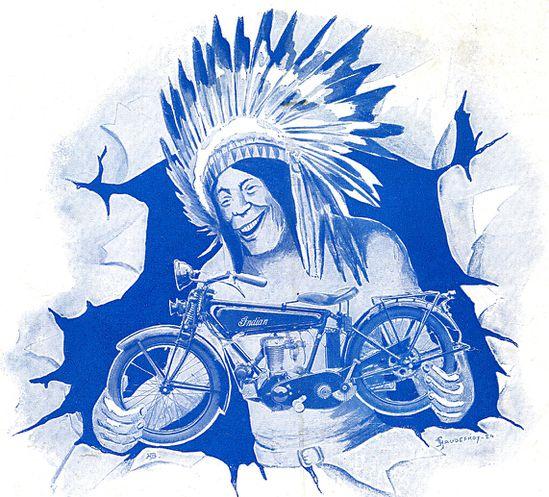 affiches anciennes ou pubs indian 1925-Indian-Prince-color323