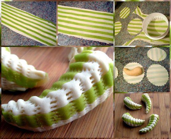 حلويات جزائرية جديدة قمة الروعة Corne-de-gazelle-bicolore-au-miel-au-nekache_thumb