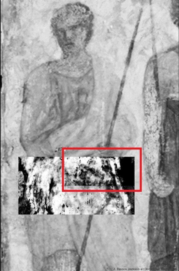 Musée du Louvre : découverte d'une peinture cachée sous une fresque grâce à un scanner d'aéroport O-FRESQUE-LOUVRE-570