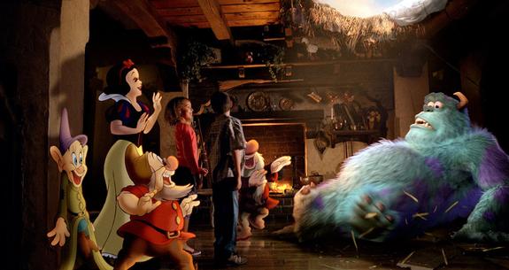 Publicité de La nouvelle Génération Disney Nkj