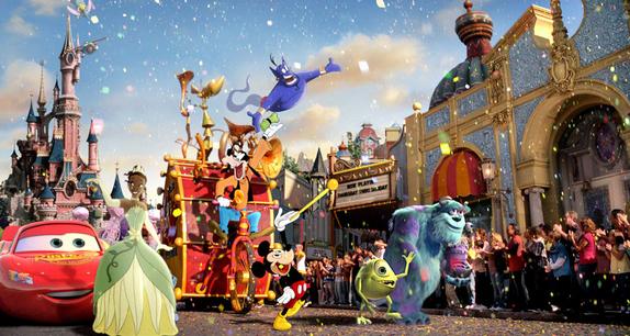 Publicité de La nouvelle Génération Disney K-