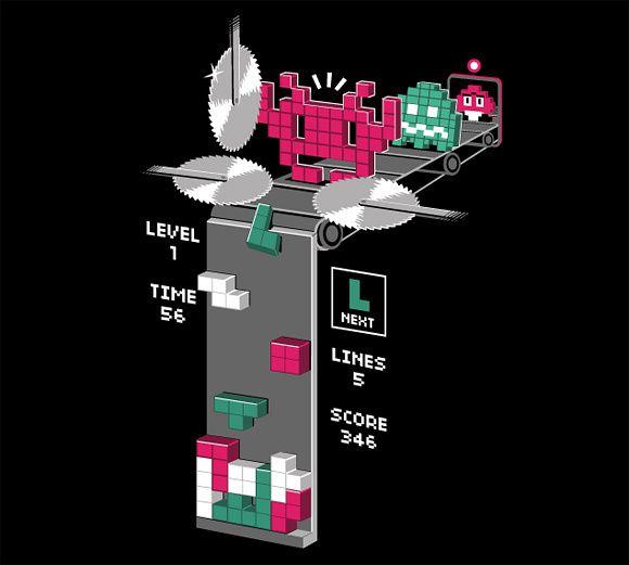 L'univers des Geeks Tetriscreation